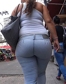 Tight Pocketless Jeans